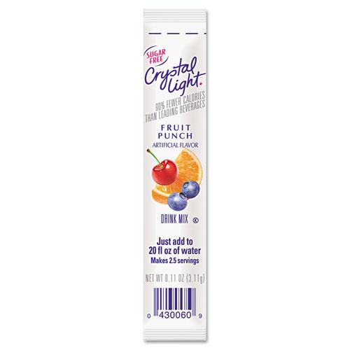 Crystal Light® On the Go, Raspberry Lemonade, .16oz Packets, 30/Box