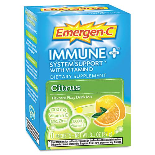 Immune Formula, .3oz, Citrus, 10/Pack