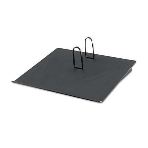 Recycled Plastic 17 Calendar Holder, 3-1/2 x 6-1/2, Black
