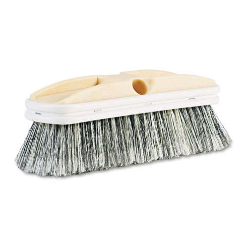 Polystyrene Vehicle Brush w/Vinyl Bumper, 2 1/2 Bristles, 10 Brush