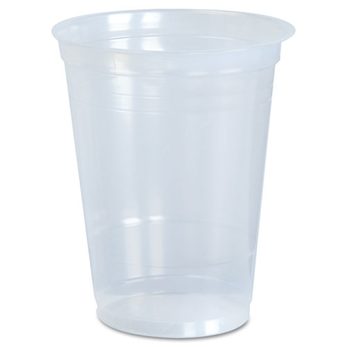 Dart® Cups, Cold, 16 oz., Clear Plastic, 50/Bag, 20 Bags/Carton
