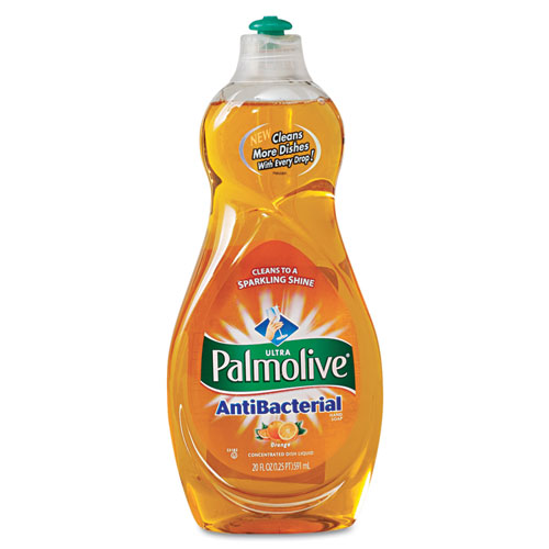 Palmolive® Ultra Antibacterial Dishwashing Liquid, 20 Oz Bottle, 9/Carton