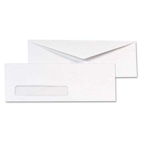 Qua90120b quality park window envelope zuma for Window envelopes