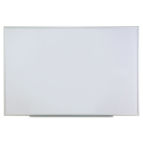 Dry Erase Board, Melamine, 72 x 48, Satin-Finished Aluminum Frame | by Plexsupply