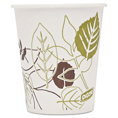Dixie® Pathways Polycoated Paper Cold Cups, 12oz, 2400/Carton