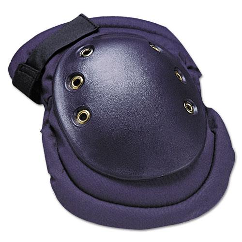 FlexKnee Knee Protection, Hook  Loop Closure, Nylon/Foam/Rubber, Navy