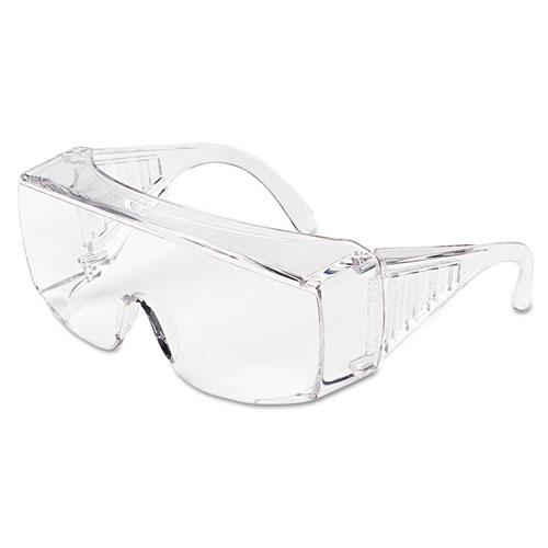 MCR™ Safety Yukon Uncoated Protective Eyewear, Clear, X-Large