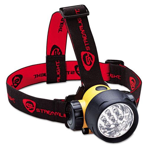 Septor LED Headlamp, Black/Yellow 61052