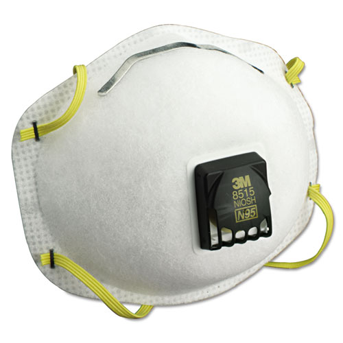 Particulate Welding Respirator 8515, N95, 10/Box 8515