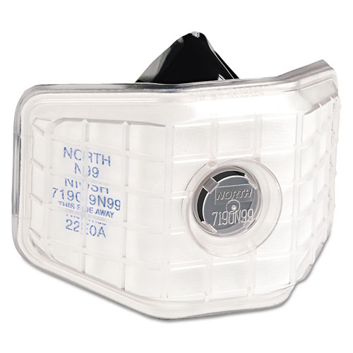 North Safety® 7190 Series Welder's Reusable Particulate Respirator, Non Oil, N99