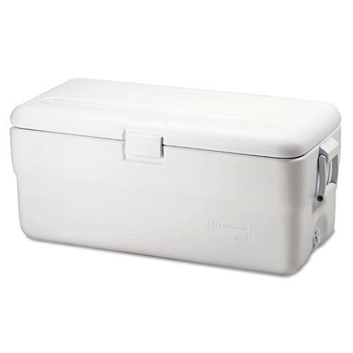 Marine Series Ice Chest, 102qt, White | by Plexsupply