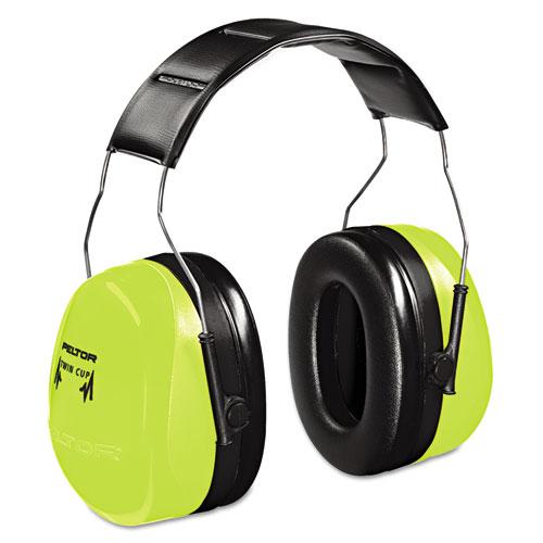 Peltor Optime 105 Hi-Viz Earmuffs, NRR 30