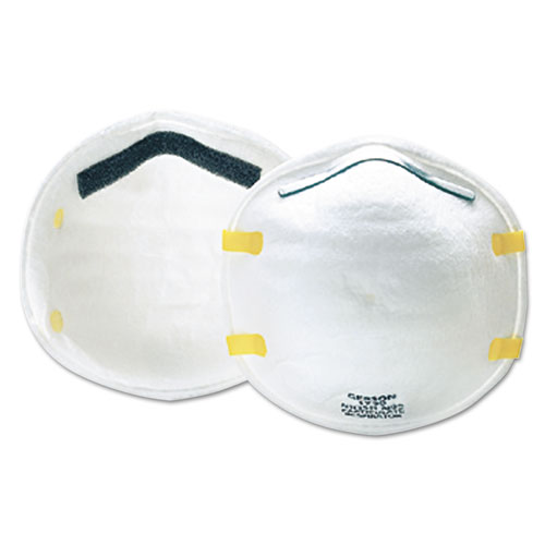 Cup-Style Particulate Respirator, N95, 20/Box