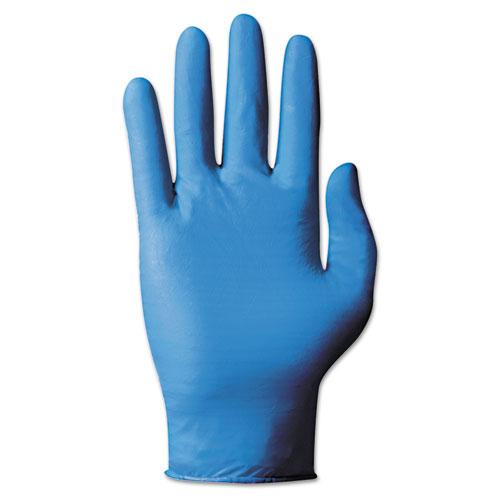 TNT Blue Single-Use Gloves, Large, 100/Box