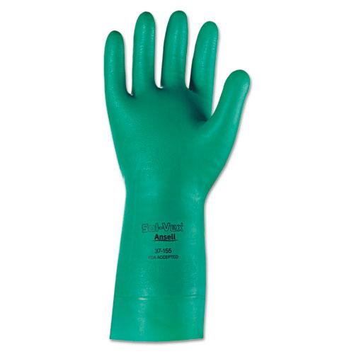 Sol-Vex Nitrile Gloves, Size 10