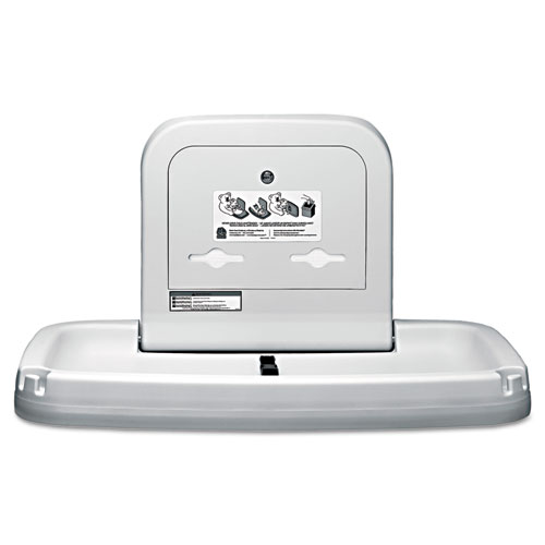 Koala Kare® Horizontal Baby Changing Station, 35.19 x 22.25, Cream