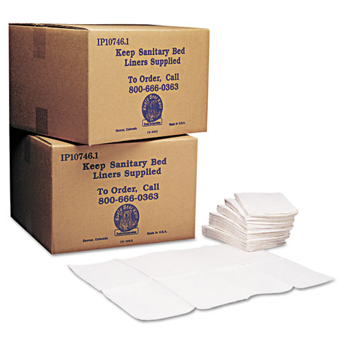 Koala Kare® Baby Changing Station Sanitary Bed Liners, 13 x 19, White, 500/Carton