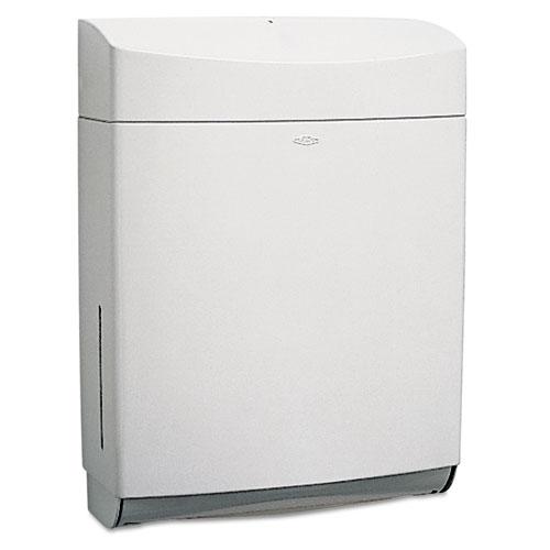Matrix Series Surface-Mounted Paper Towel Dispenser, 11.5 x 4.75 x 15.25, Gray