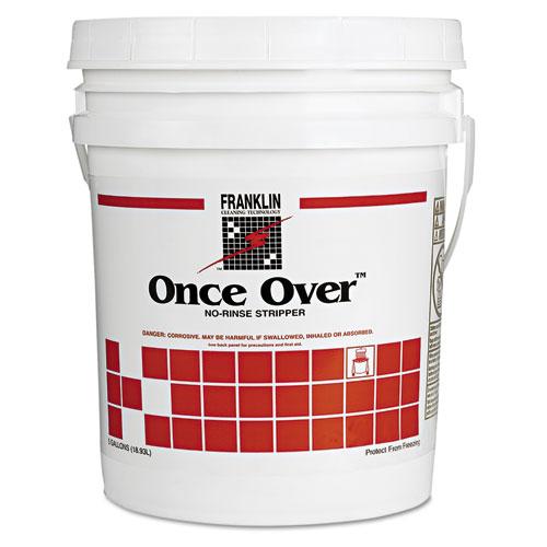 Once Over Floor Stripper, Liquid, 5 gal Pail