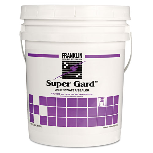 Water Based Acrylic Floor Sealer, 5gal