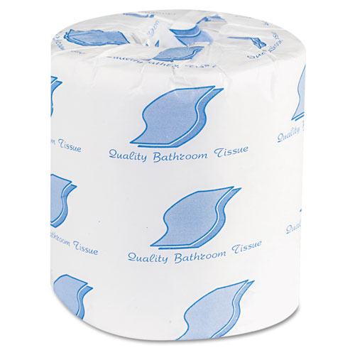 Bath Tissue, Septic Safe, 2-Ply, White, 500 Sheets/Roll, 96 Rolls/Carton