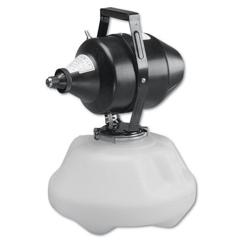 Atomist Electric Sprayer w/Nozzle, 2 Gal, Polyethylene, Black/Translucent White