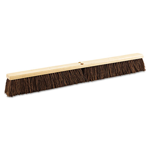 "Floor Brush Head, 36"" Wide, Palmyra Bristles 