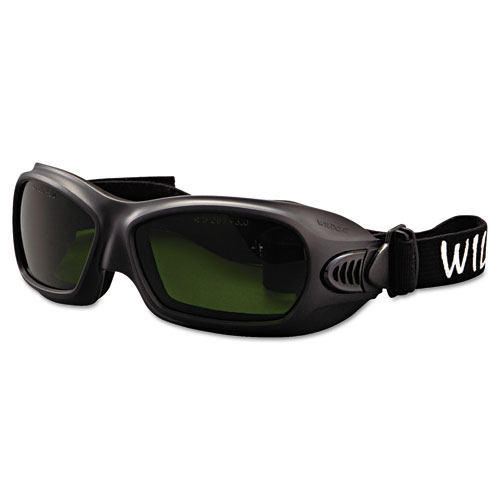 Jackson Safety* V80 WildCat Cutting Goggles, Black Frame, Shade 3.0 Lens