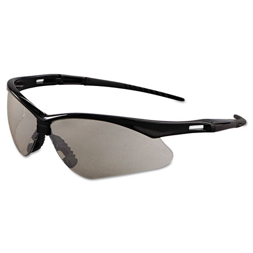 Jackson Safety* Nemesis Safety Glasses, Black Frame, Indoor/Outdoor Lens