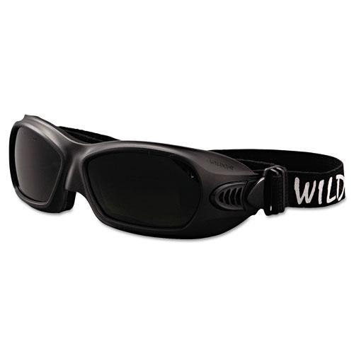 Jackson Safety* V80 WildCat Cutting Goggles, Black Frame, Shade 5.0 Lens