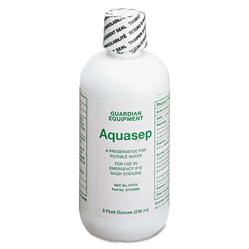 Guardian™ Additive for Portable Emergency Eyewash Stations, 8oz Bottle