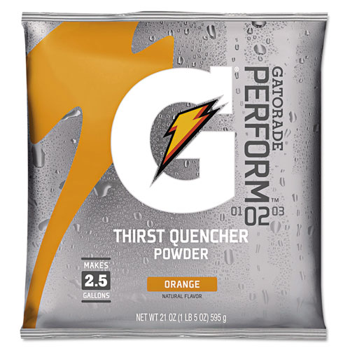 Original Powdered Drink Mix, Orange, 21oz Packet, 32/Carton