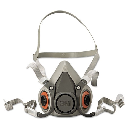 Half Facepiece Respirator 6000 Series, Reusable, Medium 6200