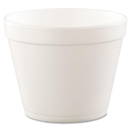 Foam Containers, Foam, 24oz, White, 25/bag, 20 Bags/carton