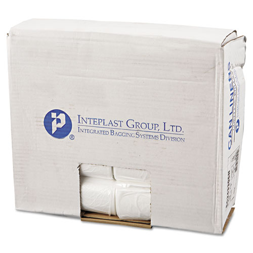 High-Density Commercial Can Liners, 16 gal, 6 microns, 24 x 33, Natural, 1,000/Carton