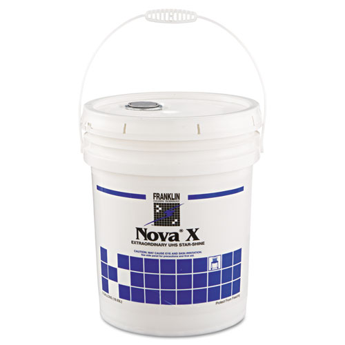 Franklin Cleaning Technology® Nova X Extraordinary UHS Star-Shine Floor Finish, 5 gal Pail