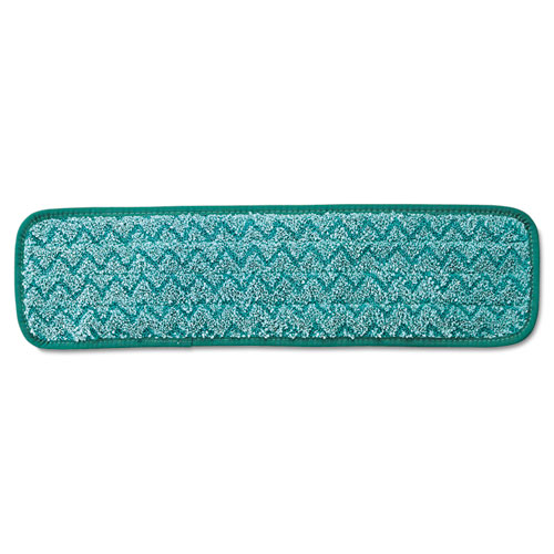 Microfiber Dust Pad, 18 1/2 x 5 1/2, Green | by Plexsupply