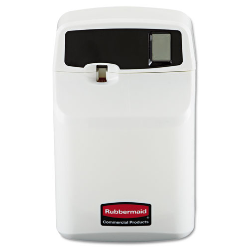 Rubbermaid® Commercial SeBreeze Programmable Odor Neutralizer Dispenser, 4 3/4 x 3 1/8 x 7 1/2, White
