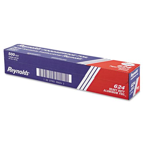 """Reynolds Wrap® Heavy Duty Aluminum Foil Roll, 18"""" x 500 ft, Silver"""