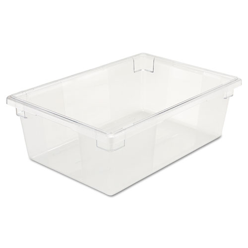 Food/Tote Boxes, 12.5 gal, 26 x 18 x 9, Clear