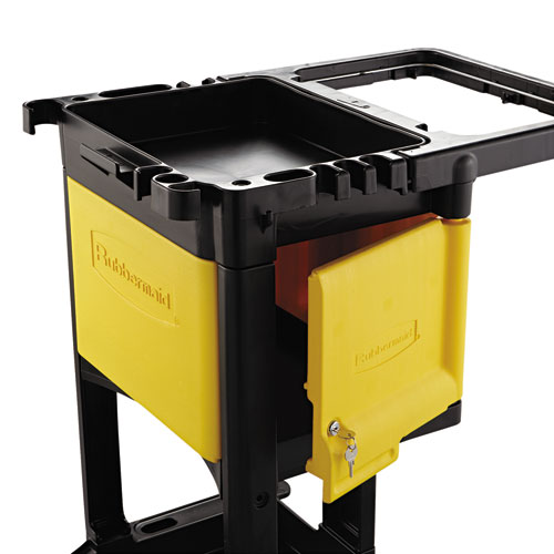Locking Cabinet For Rubbermaid Commercial Cleaning Carts