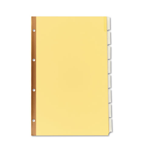 Ave11116 avery insertable standard tab dividers zuma for 8 large tab insertable dividers template