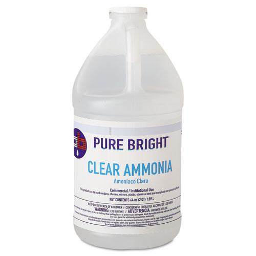 Pure Bright® Clear Ammonia, 64oz Bottle, 8/Carton