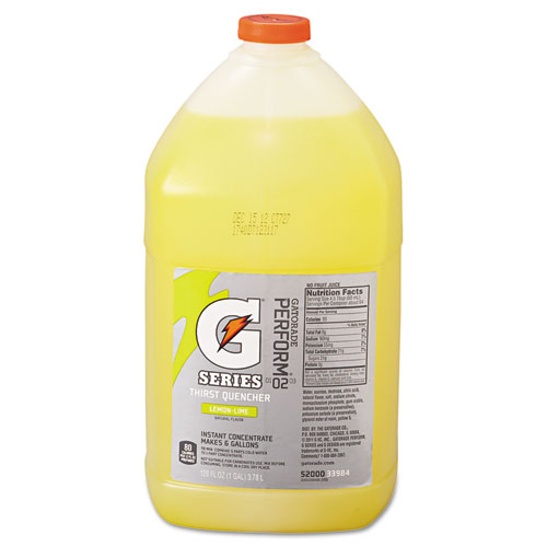 Gatorade® Liquid Concentrate, Orange, One Gallon Jug, 4/Carton