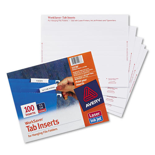 ave11136 avery printable inserts for hanging file folders zuma