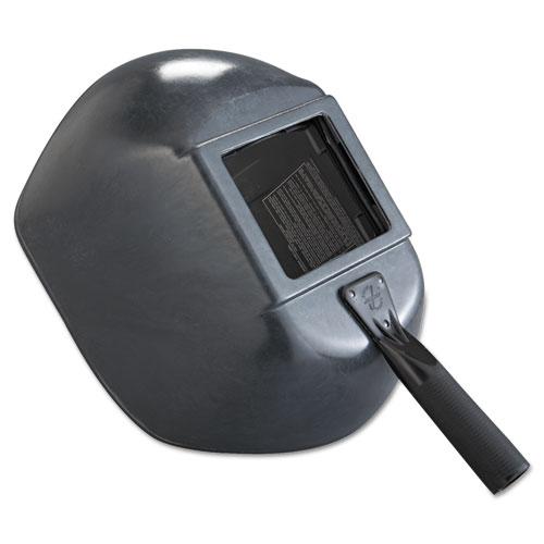 Jackson Safety* Hand Shield, Large Lens, Black