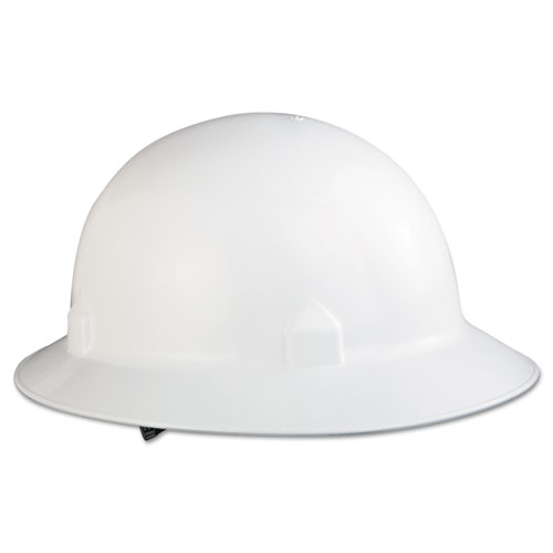 BLOCKHEAD Hard Hat with 8-Point Suspension, White 20697