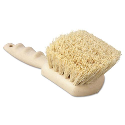 """Utility Brush, Tampico Fill, 8 1/2"""" Long, Tan Handle"""