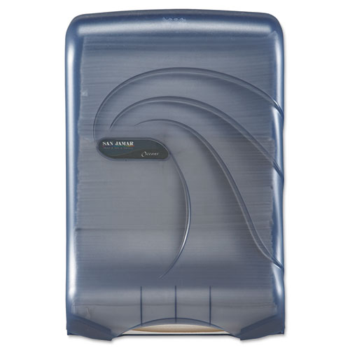 Ultrafold Multifold/C-Fold Towel Dispenser, Oceans, Blue, 11 3/4 x 6 1/4 x 18 | by Plexsupply