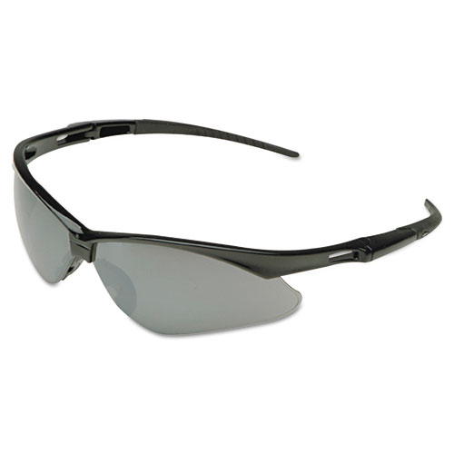 Nemesis Safety Glasses, Camo Frame, Clear Anti-Fog Lens